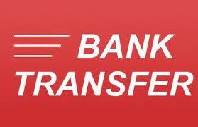 transfer bancar sau ordin plata